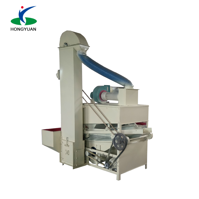 Gravity winnowing types coffee bean sorting machine