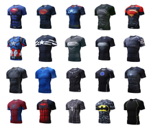 <span class=keywords><strong>T</strong></span>-shirts super-héros Marvel à séchage rapide pour l'impression par Sublimation 3d