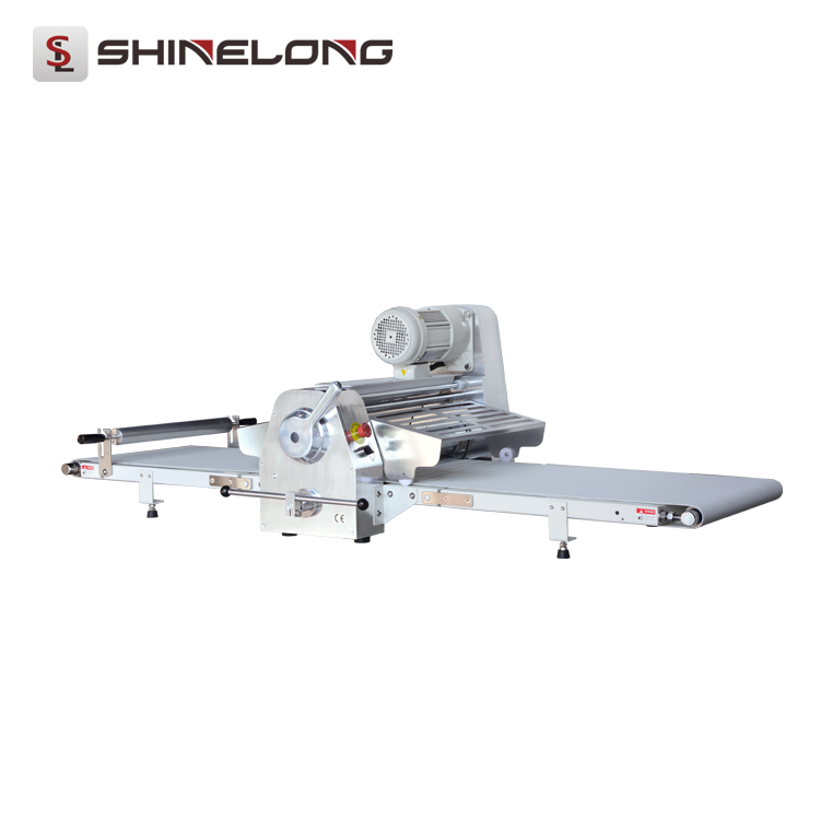 F277-1 Professional Bakery Dough Processing Machine Table Top Bread/Pizza Dough Sheeter
