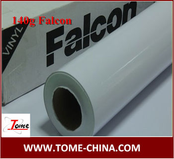 G Falcon Adhesive Vinyl Sticker Paper Roll For Slovent Printing - Vinyl decal paper roll