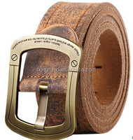 Fashinary Top Genuine Used Leather Belt For Man Classic Casual Jean