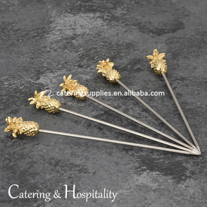 Stainless Steel Pineapple Cocktail Sticks, Stainless Steel Cocktail Picks, Pineapple Fruit Picks Stainless Steel #304