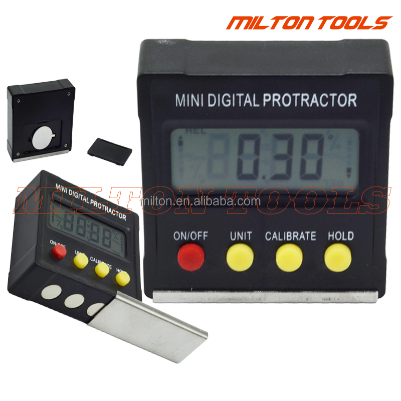 360degree Mulit function digital Protractor Mini digital Inclinometer Digital <strong>level</strong> Bevel Box