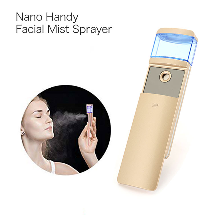 Fashionable design outdoor nano sprayer face steamer personal facial mist spray