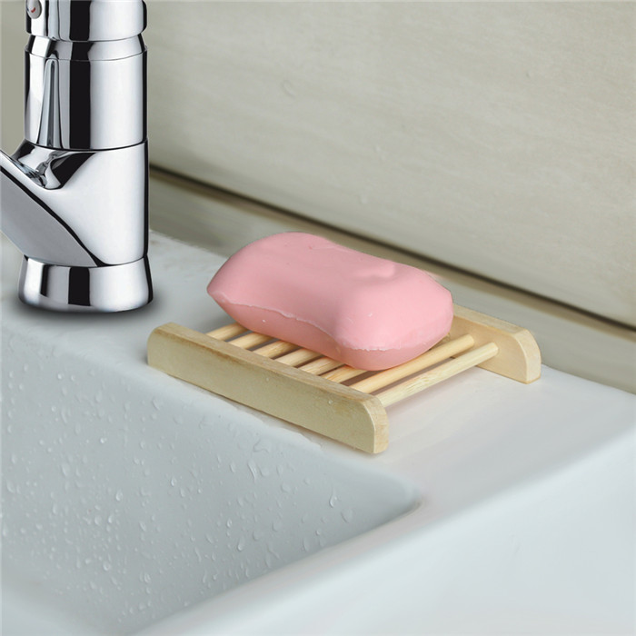 Bathroom Wooden Soap Dish soap Tray/Holder for Bath Shower