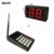 Wireless Kitchen Call Transmitter System for Restaurant 2 digital number led display