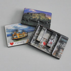 MDF Tourist 3D Wood Fridge Magnet Souvenirs And Gifts