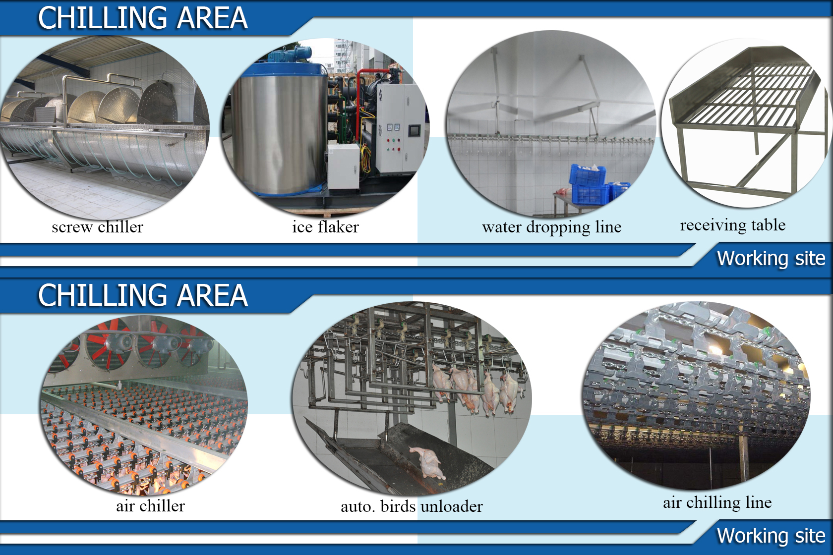 Good price high quality CE Certification Poultry Chicken Slaughterhouse