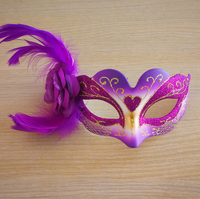 children adults women feather eye face mask for Masquerade Ball Halloween Party Fancy Dress Costume