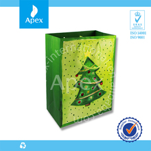 Cheap christmas tree paper gift candy bag