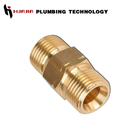 JH1393 brass grease nipple brass tank nipple brass ball valve with nipple