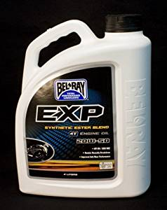 Bel-Ray EXP Synthetic Ester Blend 4T Engine Oil - 20W50 - 4L. 99131-B4LW by Bel-Ray