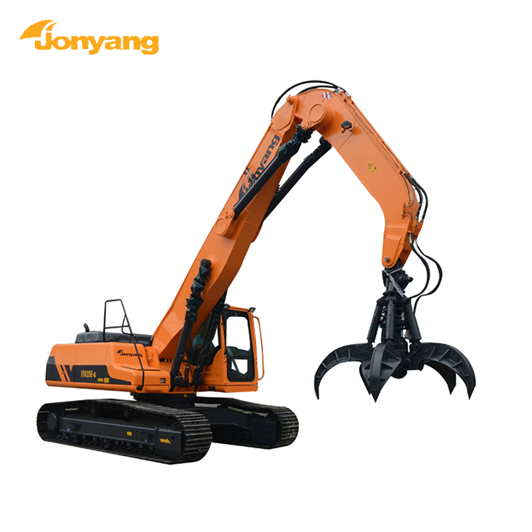 chinese made material scrap handler excavator for sale 45t
