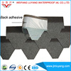 Waterproof Tile Mosaic Type Colorful Fiberglass Asphalt Roofing Shingle