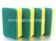Kitchen Cleaning Nylon Scouring Pad cleaning flat kitchen sponge