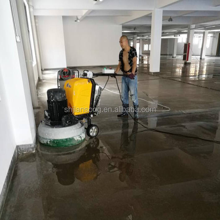 Concrete Floor Polisher , Planetary Gear and Belt Terrazzo Stone Marble Floor Grinder Machine