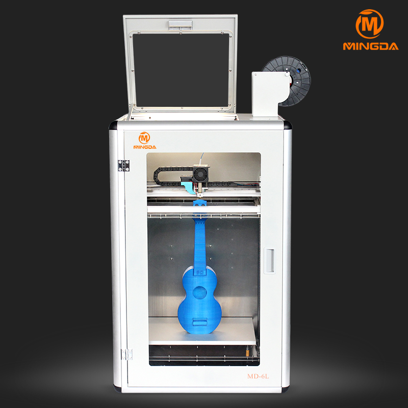 MINGDA MD-6L , Latest Technology 3D Printer for ABS/PLA