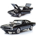 1 32 diecast cars Scale Fast Furious 7 Alloy Dodge Charger Toy Cars Collection Gift For