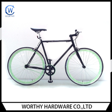 700C single speed fixed/flip flop fixed bike/fixed gear import from China