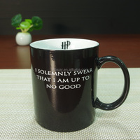 Harry Potter Mug Mischief Managed Heat Sensitive Transforming Color Changing Mug by MagicMugFactory