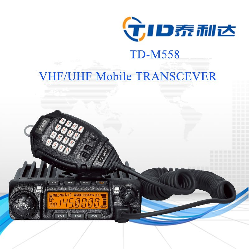 Td-m558 20w/50w/60w single band wireless car audion