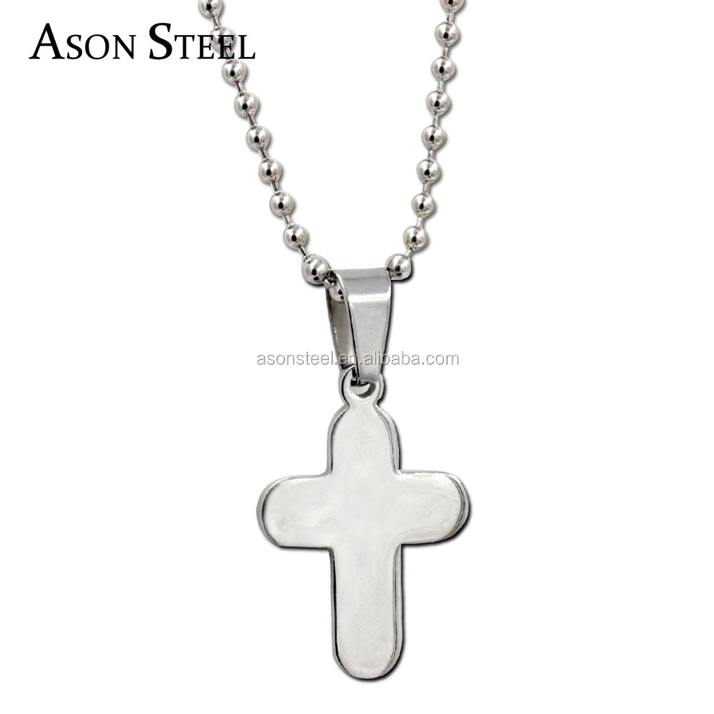 Cross Necklaces Pendants Christian Jewelry Bible Lords Prayer Stainless Steel Christmas Gift Men