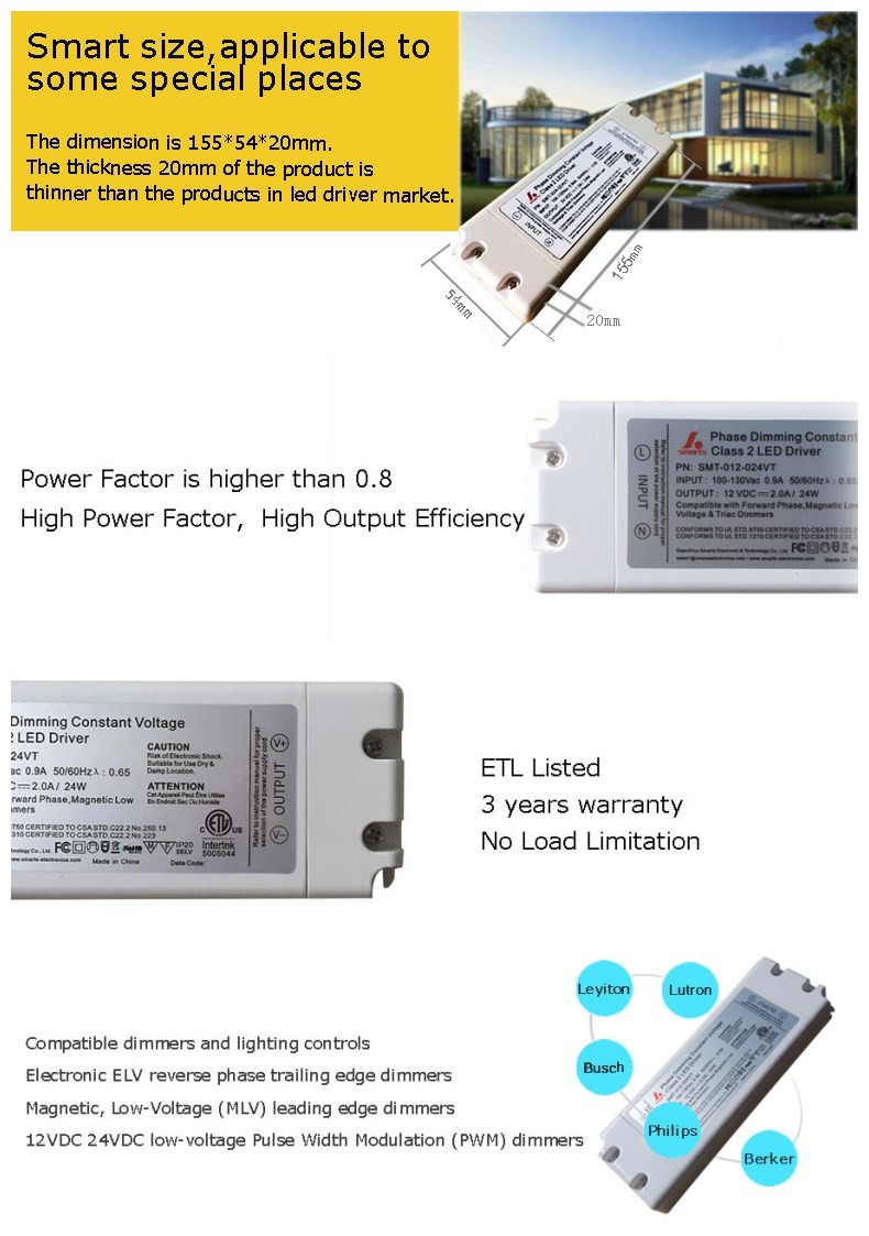 120vac To 12vdc Power Supply 2 Amp Triac Dimmable 24w Led Driver Description This Is An Example Of A Regulated 120 Vac 12 Vdc Pwm Output Phase Cut Dimming 12v