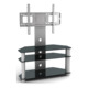 Best sell economy glass LCD TV Stand