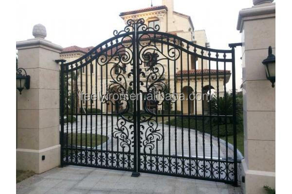 Modern Wrought Iron Gate Directly From Factory Buy