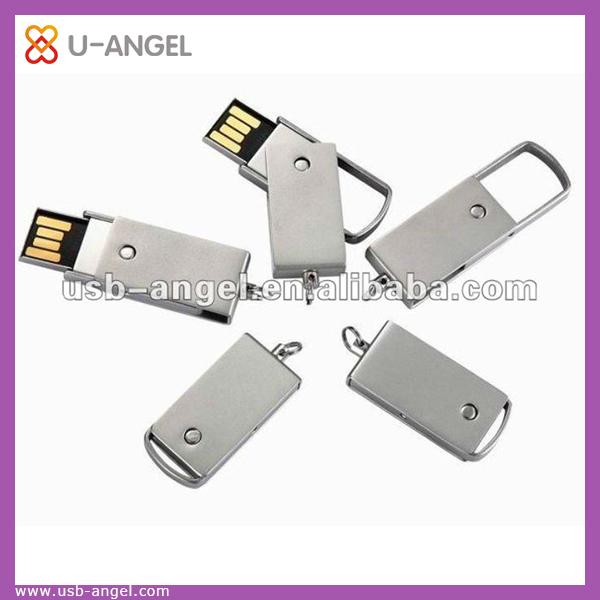 Lovely rotatable metal USB storage device