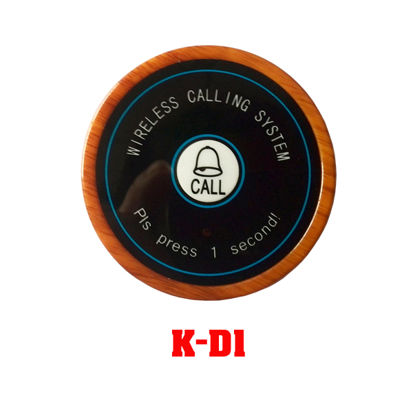 Ycall Brand 433.92Mhz Transmitter And Receiver Restaurant Table Buzzer System (1 display+10 call button)