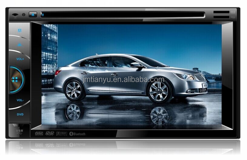 GPS Rearview IPOD system 2 din car DVD player with mp3 mp4 mp5 USB SD TV Bluetooth AUX MMC ID3 function