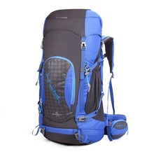 Mountaintop 65L Trekking Rucksacks Hiking Backpack for Outdoor Hiking Travel Climbing Camping Mountaineering with Rain Cover