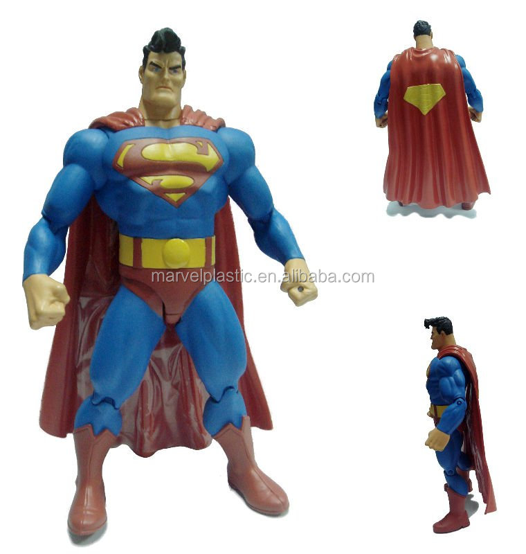 Plastic toy superman figure Action Figure