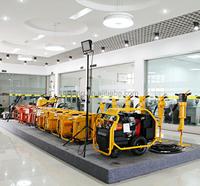 Gasonline engine small hydraulic power unit portable hydraulic power units with 155 bar pressure