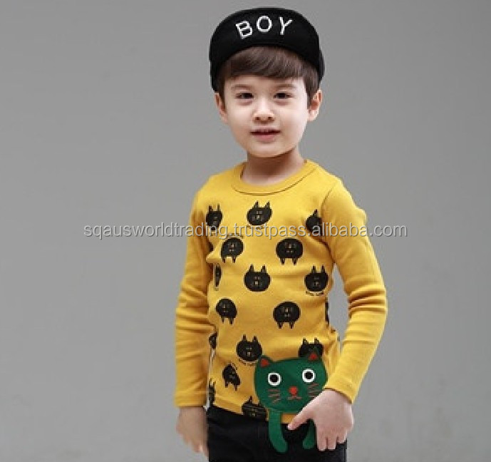 Cute Baby Boys Baby Girls T Shirts Winter Jacket 100% Cotton