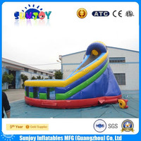 2016 Cheap New Design Giant Inflatable Adult Slide For Hot Sale