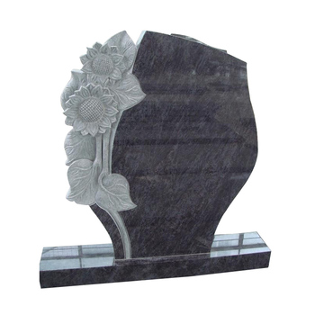 Factory Black Tombstone For Child, Granite Black Granite Marble Tombstone Monument+