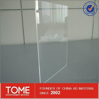 Heat Resistant Plastic Sheet Clear Acrylic Sheet 3mm