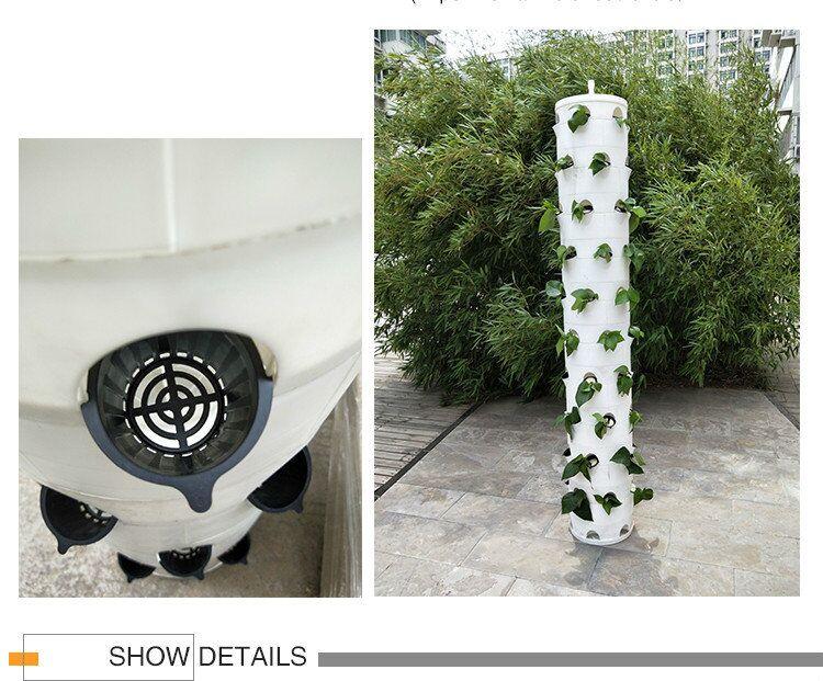 5-Hang hydroponics tower