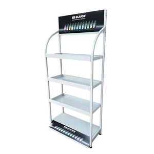 Ceramic tile/artificial granite/marble sample/stone/retail counter/book/clothing /battery/ modern metal display rack/holder