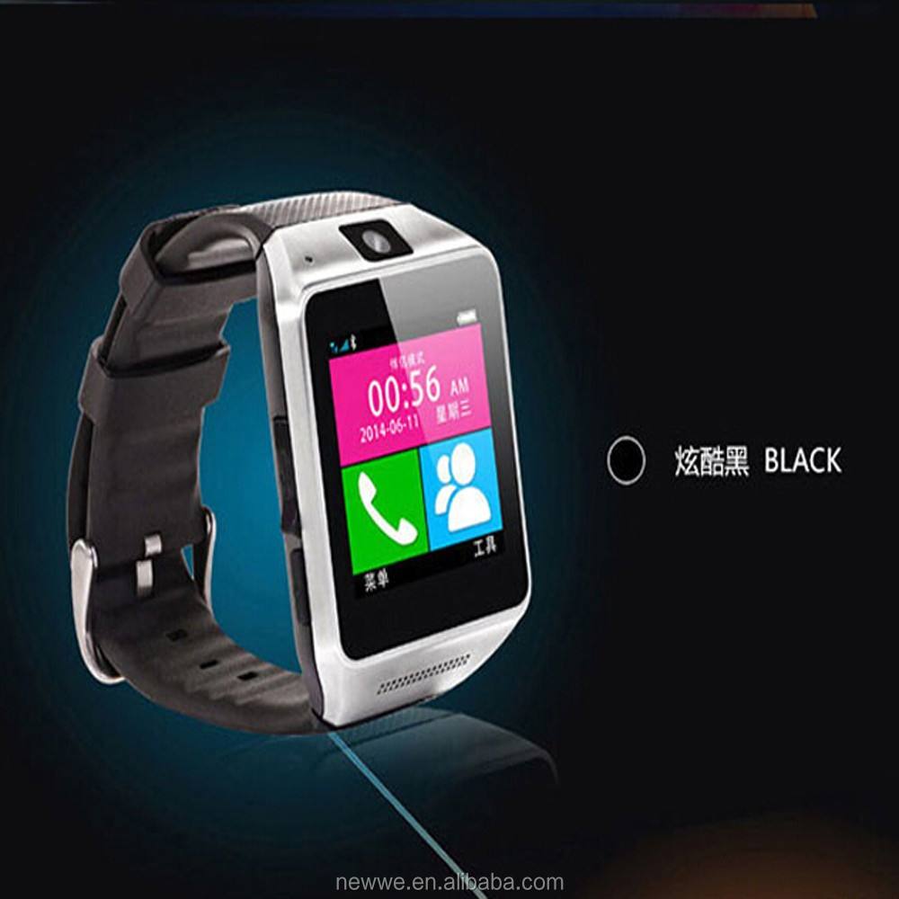 Hot seller Bluetooth watch gv08 for Android Smart Phone Wrist Watch With 1.3MP Camera Support SIM Card