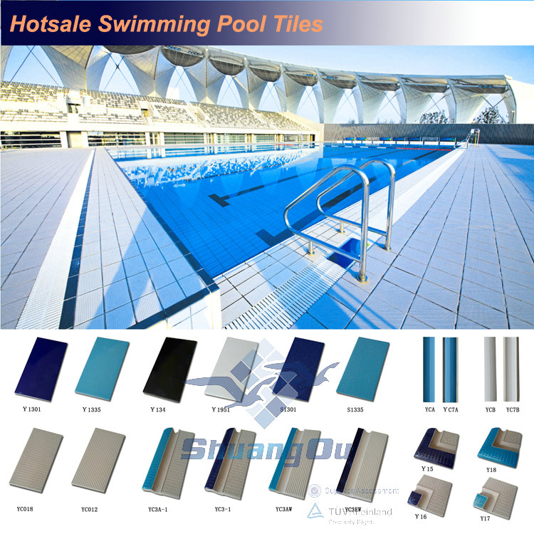 warehouse stock international standard olympics swimming pool tile 240x115mm - Olympic Swimming Pool Diagram