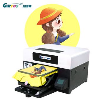 Dark color garment to print directly without pretreatment A3 size DTG printer