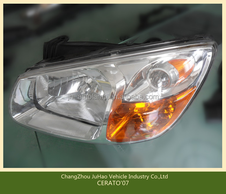 CERATO'07 hot sale halogen car headlamp/auto lamp,auto parts for CERATO'07 OEM:L:92101-2F R:92102-2F