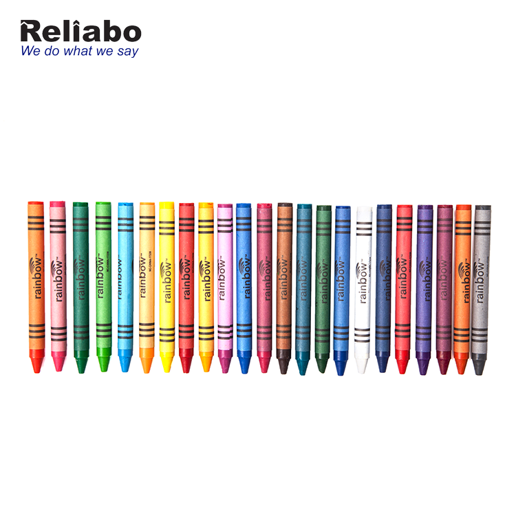 Reliabo Manufacturing Company Wholesale Kid Safety Non-toxic Colorful Crayon Set