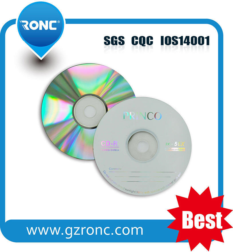 Good quality cd dvd record once wholesale in china