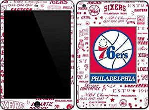 NBA Philadelphia 76ers iPad Mini 3 Skin - Philadelphia 76ers Historic Blast Vinyl Decal Skin For Your iPad Mini 3