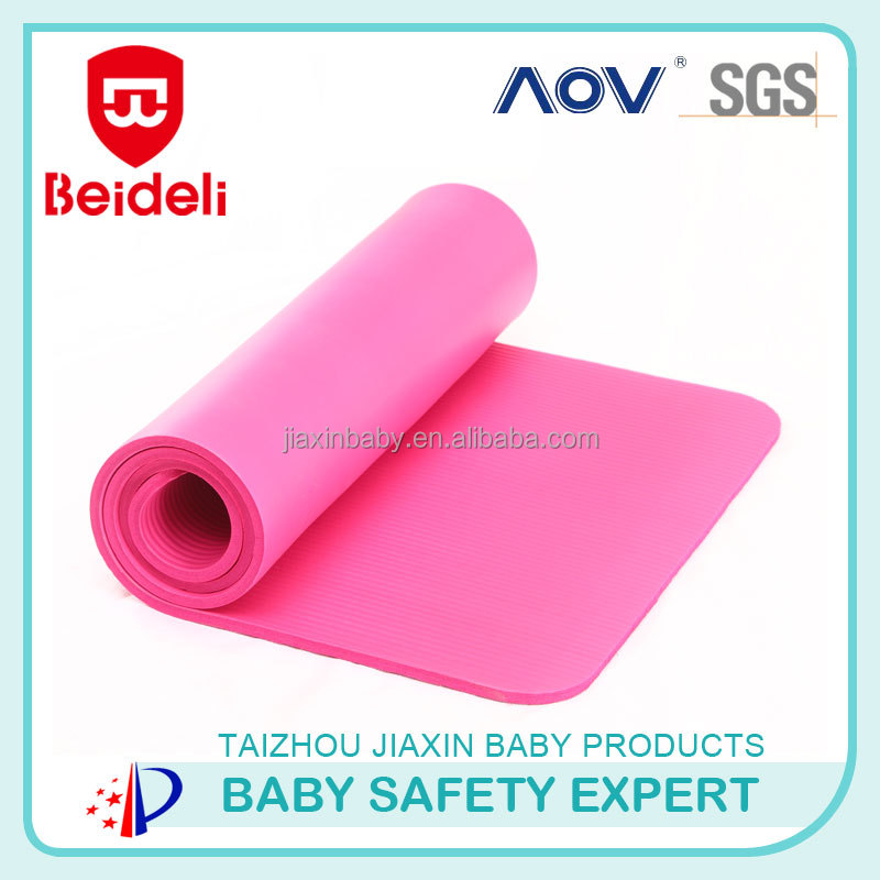 2016wholesale washable folding foam yoga mat from NBR yoga manufacturer