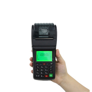 Handheld Pos for Bus Prepaid Ticketing System Support SMS GPRS Conectivity